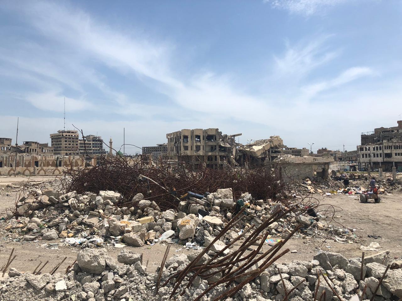 Projet en Irak - Université de Mossoul 2019